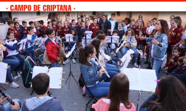 Ciento sesenta niños sacan la música a la calle con los XI Escenarios musicales de Campo de Criptana