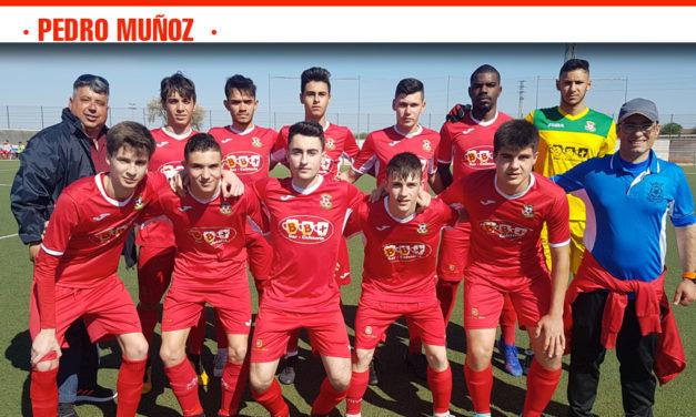 El Atlético Pedro Muñoz intentará acabar la Liga con una victoria ante el Infantes CF