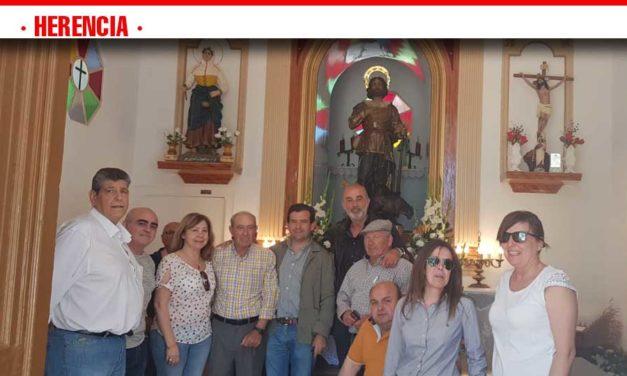 """San Isidro paraje de la Pedriza """"POZOS DEL AGUA» amigos, familia, simpatizantes y parte de la candidatura de Vox Herencia"""
