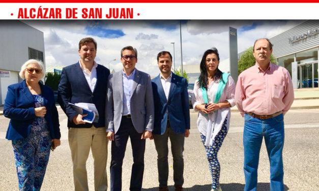 """Diego Ortega: """"El PP llevará a cabo una auténtica revolución fiscal para las familias, empresas y autónomos de Alcázar"""""""