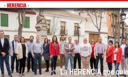 La participación vecinal, eje vertebrador del programa con el que el PSOE de Herencia concurre a los comicios del domingo