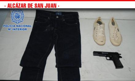 Gracias a la colaboración ciudadana, se ha detenido al presunto atracador de Alcázar de San Juan