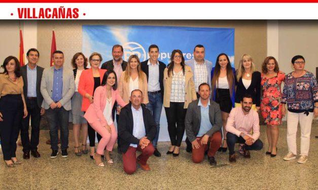 El  Partido Popular presenta su candidatura para la localidad Toledana de Villacañas
