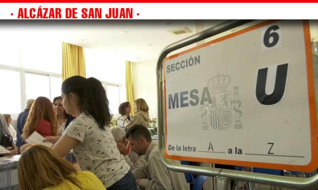 Los seis candidatos a la Alcaldía de Alcázar de San Juan han acudido a las urnas este 26 de mayo