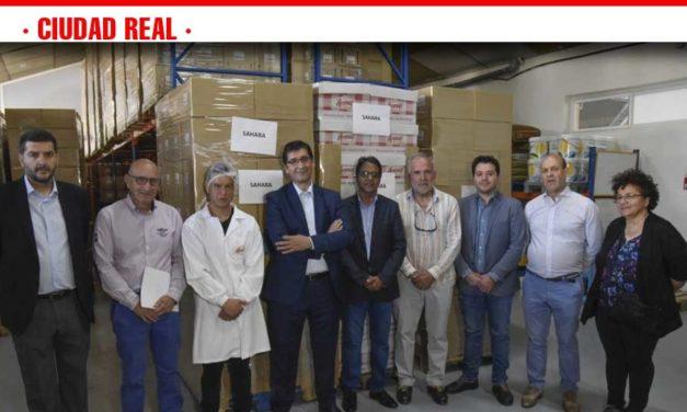 La Diputación hace a la provincia solidaria con el pueblo saharaui con alimentos elaborados y adquiridos en nuestra tierra