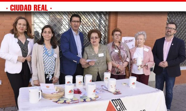 Caballero hace efectiva la colaboración de la Diputación con la Asociación de Esclerosis Múltiple
