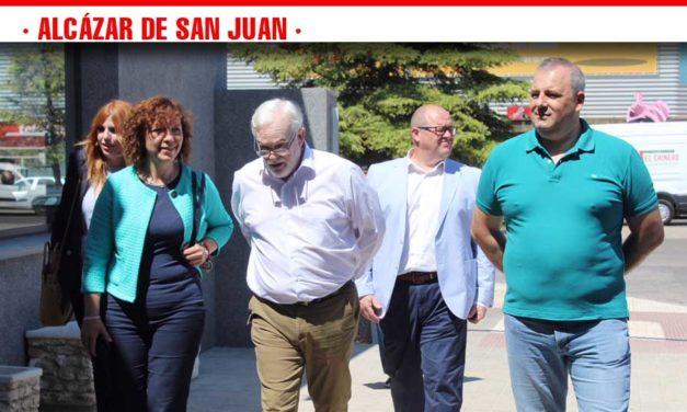 Terminada la primera fase de modernización de la estación de autobuses de Alcázar de San Juan