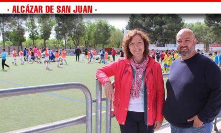 Más de 30 equipos alevín e infantil de fútbol 7 y 11 de la región disfrutaron en Alcázar del Torneo Interescuelas