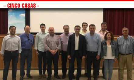 """Rosado asegura que Cinco Casas recuperará """"la autonomía que se merece"""" a partir del próximo 26 de mayo"""