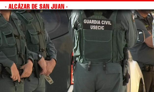 Operación Policial en Alcázar de San Juan