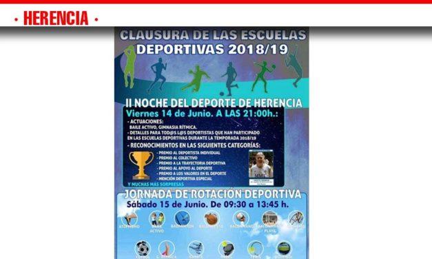 La Fiesta de Clausura pone punto y final a la temporada de las Escuelas Deportivas Municipales