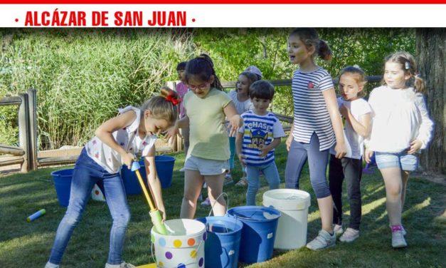 Fiesta final de actividades extraescolares en el parque Alces