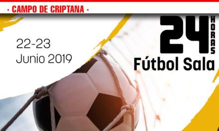 Este fin de semana se celebran las 24 horas de fútbol sala de Campo de Criptana