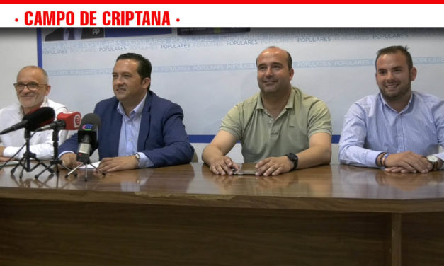 Antonio Lucas-Torres será el portavoz del Grupo Popular en el consistorio criptanense durante la próxima legislatura