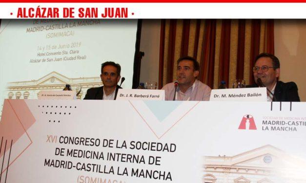 Alcázar de San Juan reúne en un Congreso a más de un centenar de profesionales de Medicina Interna