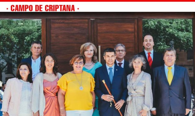 """Santiago Lázaro en la toma de posesión: """"Vamos a trabajar para que toda la historia de Criptana se transforme en oportunidades de desarrollo"""""""