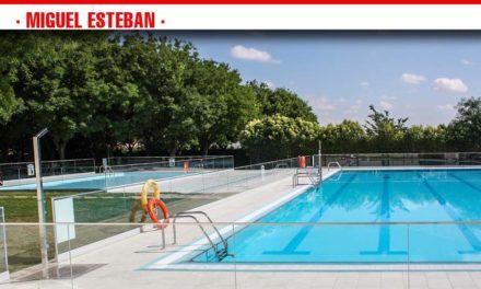 Miguel Esteban abre su piscina el próximo sábado 29