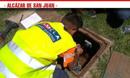 El ayuntamiento de Alcázar instala un sistema de telegestión de riego en el Parque Alces