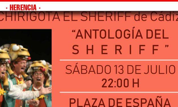 La Chirigota del Sheriff y su Antología este sábado en Herencia