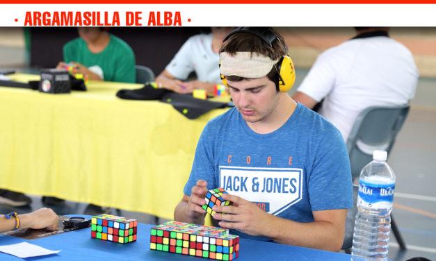 En marcha el Quijote Open 2019 del cubo de Rubik en Argamasilla de Alba