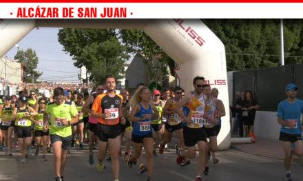 Un centenar de corredores disfrutan del entorno del cerro de San Antón en la VI Carrera Subida a los Molinos