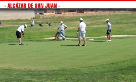 Éxito de participación en el Campeonato absoluto de Golf de CLM en una calurosa mañana