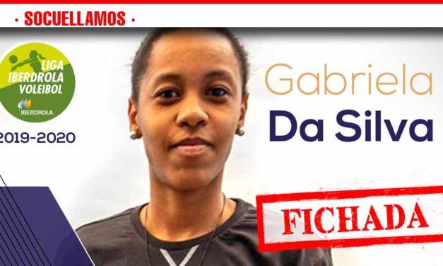 FICHADA la Opuesta GABRIELA DA SILVA del Lugano con el nº 1