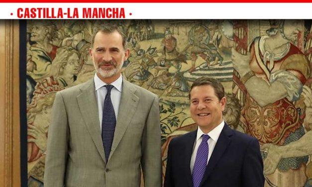 El presidente García-Page traslada al rey Felipe VI los principales retos y proyectos de Castilla-La Mancha para los próximos cuatro año