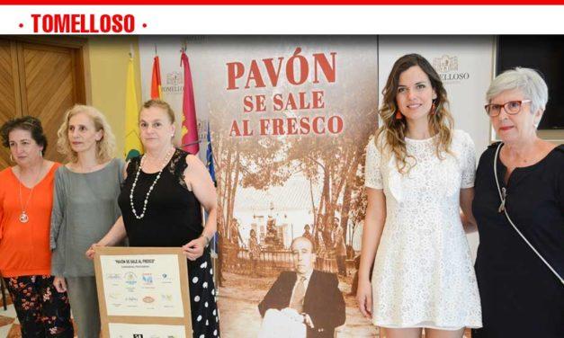 """""""Pavón se sale al fresco"""", la nueva iniciativa cultural del Centenario del escritor tomellosero"""