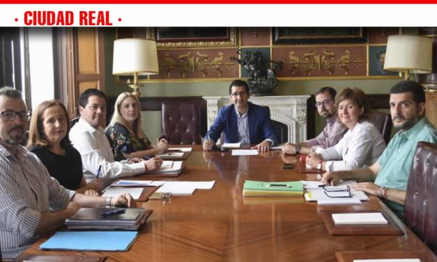 Caballero inicia con los vicepresidentes y el viceportavoz los trabajos de Gobierno en el nuevo mandato