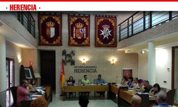 Celebrado el primer pleno ordinario de la legislatura en el Ayuntamiento de Herencia