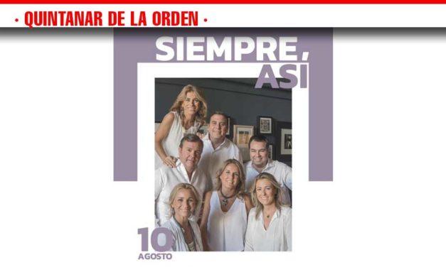 Siempre Así actuará el 10 de agosto en la Pista Jardín Colón de Quintanar