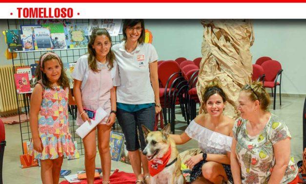"""La Biblioteca acoge el sorprendente taller """"Perros y Letras"""""""