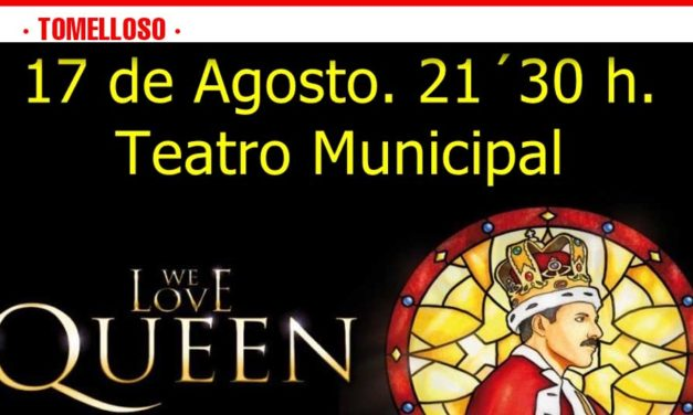 Ya están a la venta las entradas para el espectáculo We Love Queen