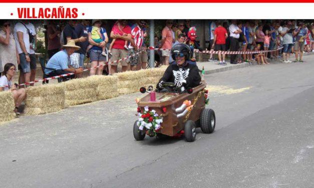 Carrera de autos locos celebrada este fin de semana en Villacañas