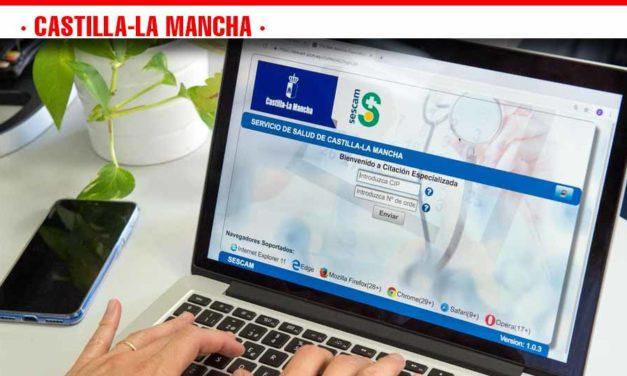 El Gobierno de Castilla-La Mancha incorpora nuevos hospitales al servicio de cita 'on line' para la consulta con el especialista