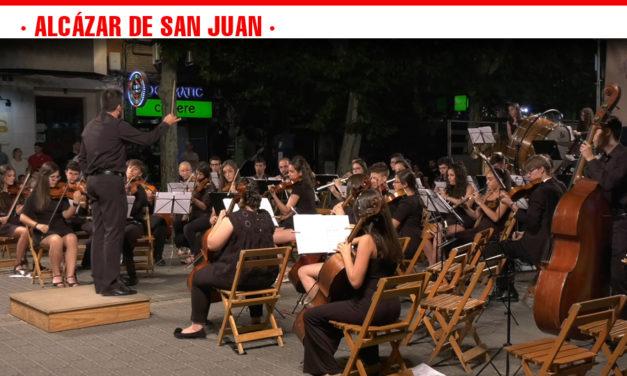 El Paseo de la Estación de Alcázar de San Juan se inunda de música clásica en una cita de los Escenarios de Verano