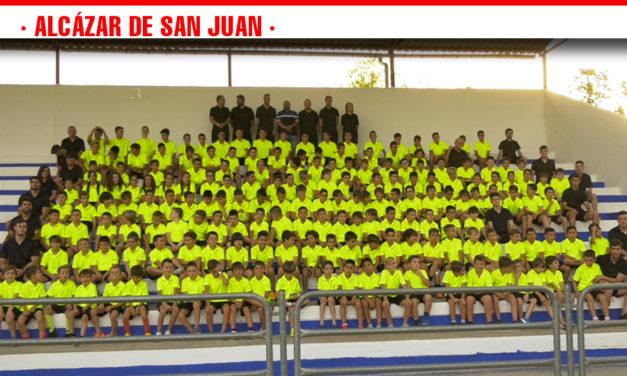 189 niños y niñas participarán en la XIV edición del Campus de Fútbol de Alcázar de San Juan