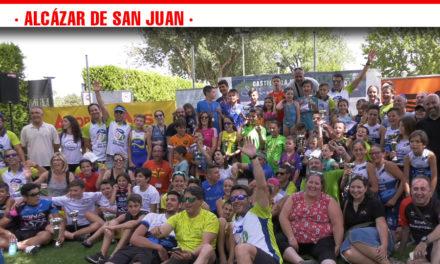 Más de 70 niños demuestran su esfuerzo y valor en el XXXI Triatlón de Menores Ciudad de Alcázar