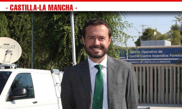 El Gobierno de Castilla-La Mancha muestra su respaldo y gratitud a los trabajadores que luchan contra los incendios forestales