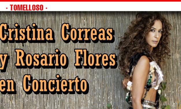 Rosario Flores actuará mañana sábado en el recinto ferial de Tomelloso
