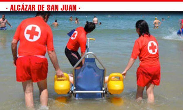Cruz Roja Alcázar de San Juan pone en marcha su servicio de baño adaptado