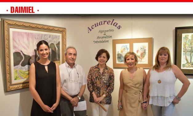 Las 'Acuarelas' de cuatro artistas locales, propuesta expositiva de Cultura para la Feria 2019