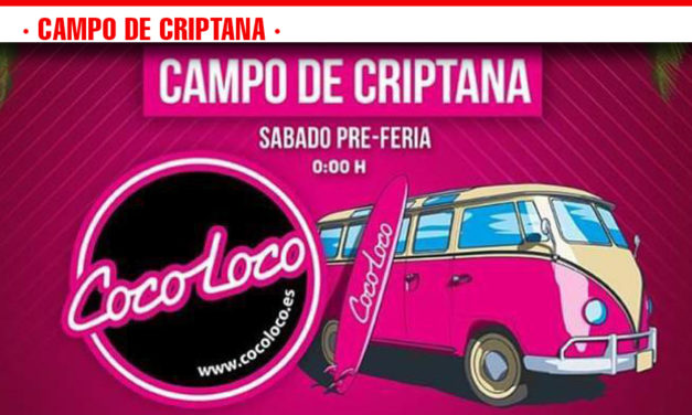 Around the World ONTOUR DE COCOLOCO llega a Campo de Criptana el sábado 17 de agosto