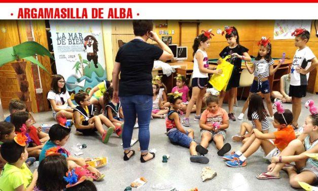 La Escuela de Verano 2019 de Argamasilla de Alba recibió la visita de Ecoembes