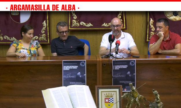 Argamasila de Alba celebra el XVII  Curso Internacional de Dirección de Bandas de Música del 12 al 16 de agosto