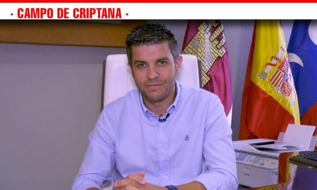 Santiago Lázaro invita a visitar Campo de Criptana en su Feria y Fiestas 2019 que comienzan hoy 23 agosto