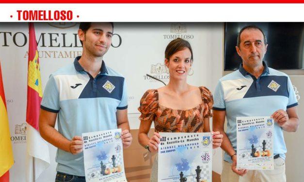 Tomelloso acogerá el sábado el III Campeonato de C-LM de Ajedrez Relámpago por equipos