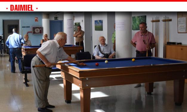 Arrancan las Jornadas de Participación de los Mayores con el vigésimo tercero torneo de billar de Daimiel