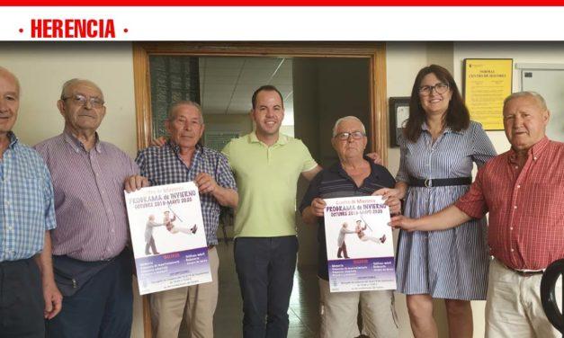 El Centro de Mayores de Herencia presenta su nuevo programa de actividades para el próximo curso
